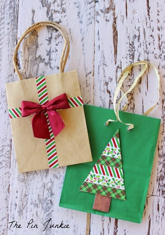easy christmas gift wrapping ideas 23