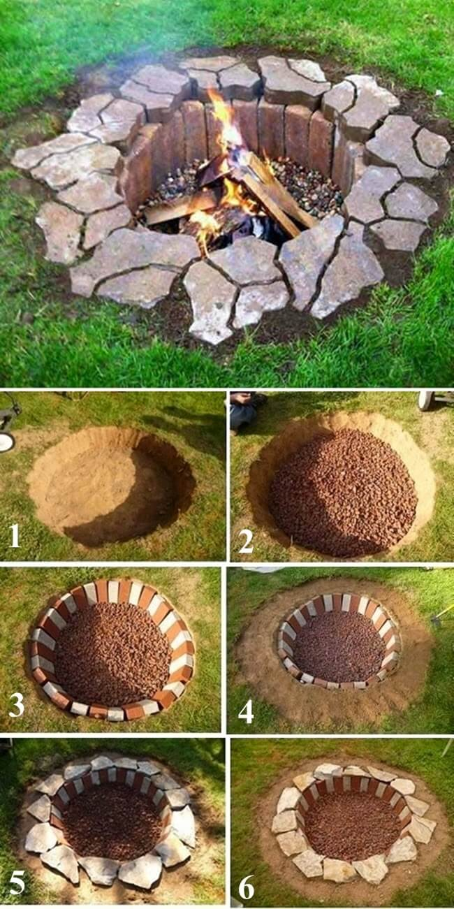 how to make fireplaces outdoors 1
