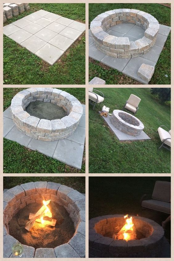 how to make fireplaces outdoors 3