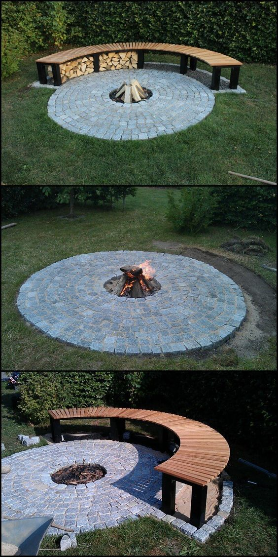 how to make fireplaces outdoors 4