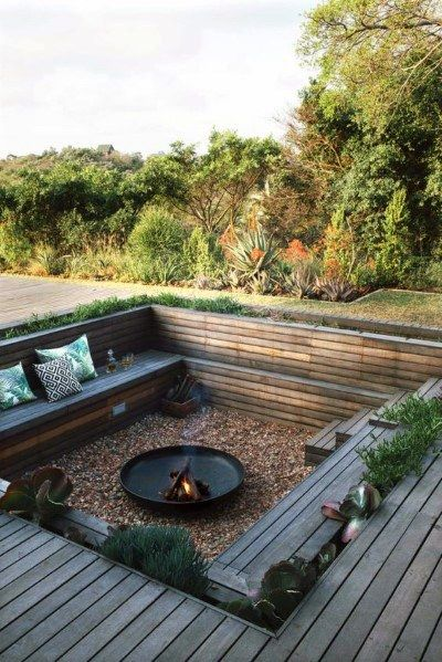 how to make fireplaces outdoors 6