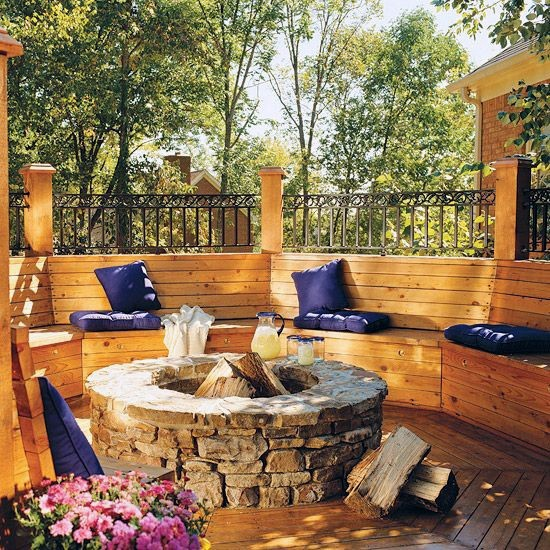 how to make fireplaces outdoors 7