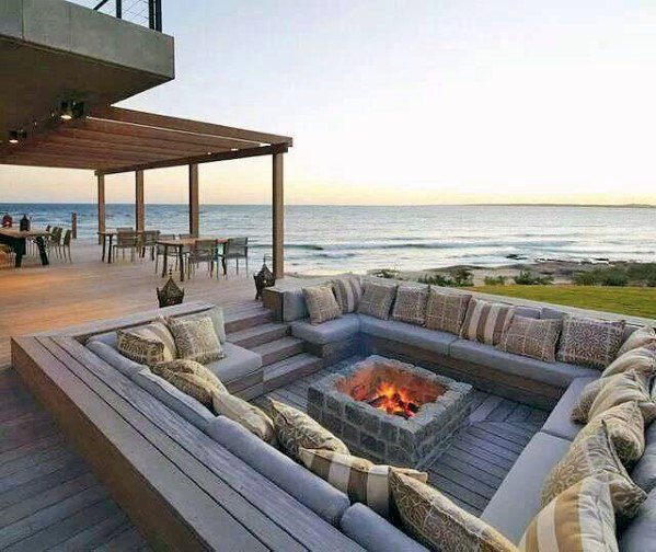 how to make fireplaces outdoors 9