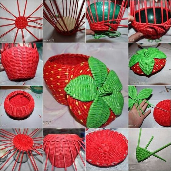 how to make paper basket 5