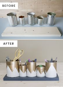 ideas for recycling cans 3