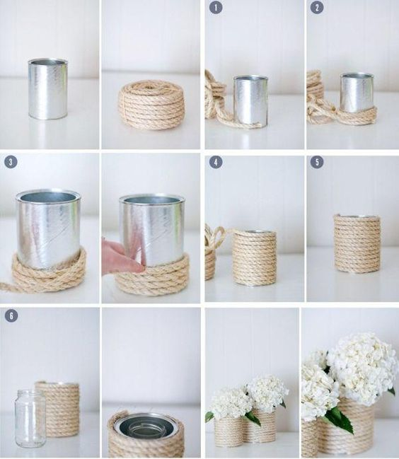 ideas for recycling cans 4