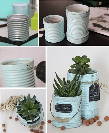 ideas for recycling cans 6