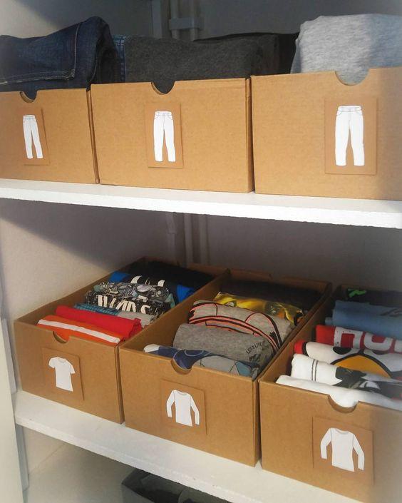 ideas organized clothes 4