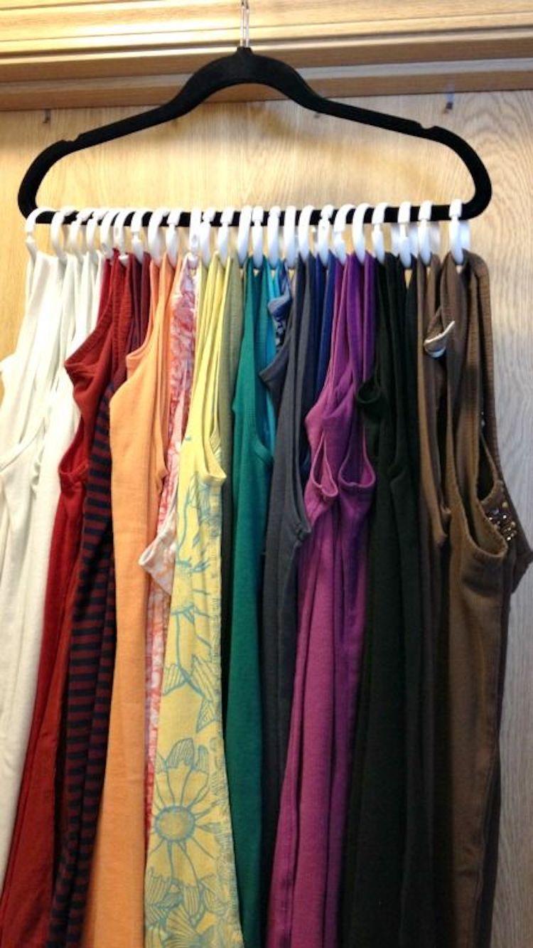 ideas organized clothes