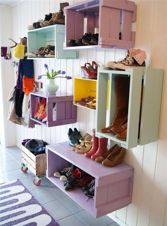ideas to store your shoes 1