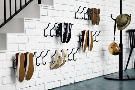 ideas to store your shoes 12