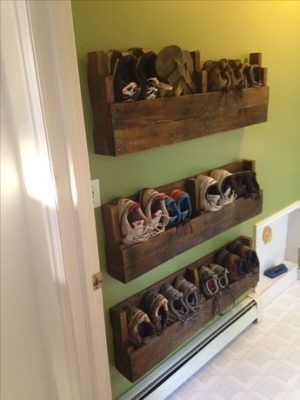 ideas to store your shoes 14