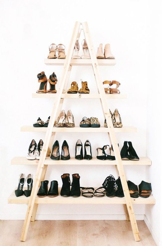 ideas to store your shoes 2