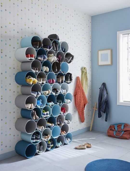 ideas to store your shoes 5