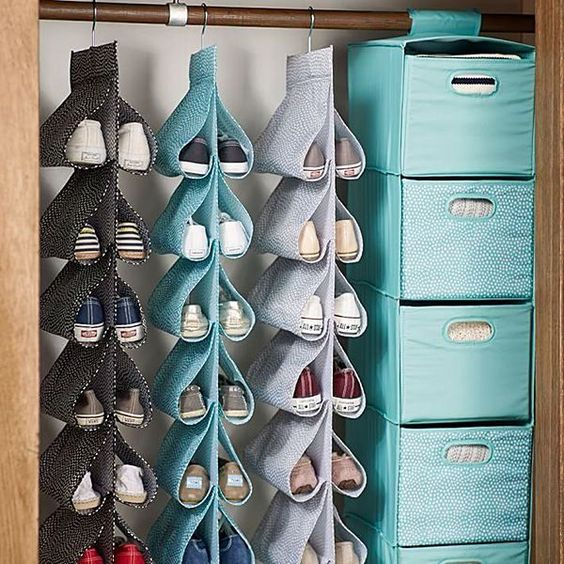 ideas to store your shoes 6