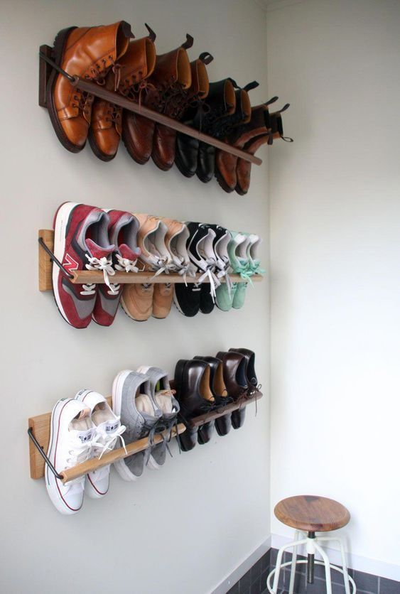 ideas to store your shoes 8
