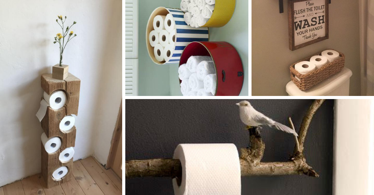 ideas toilet paper holders