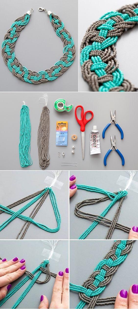 make necklaces 10