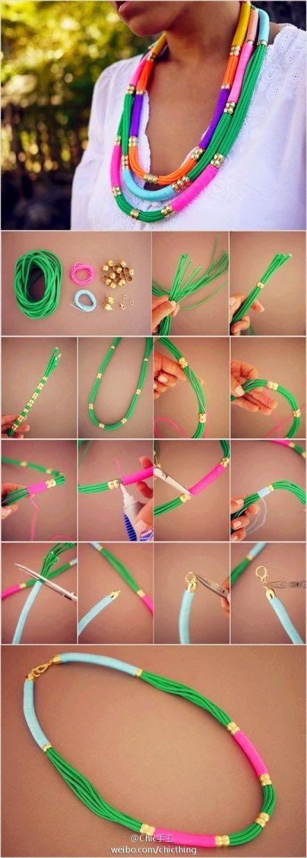 make necklaces 4