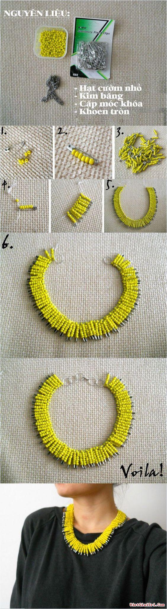 make necklaces 7