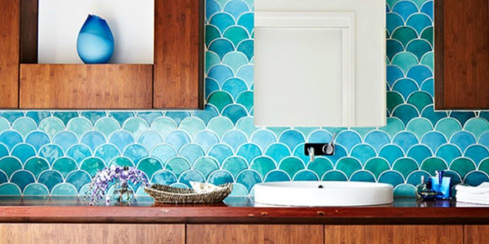 moroccan fish scale tiles decoration 6