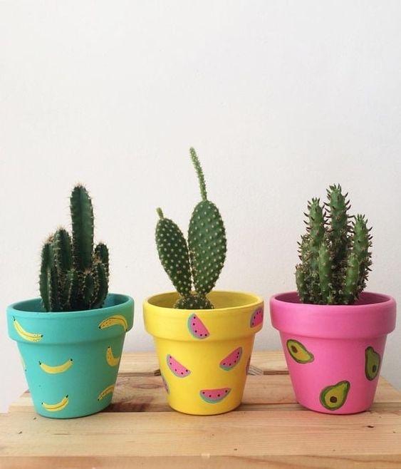 painted terracotta pots 10
