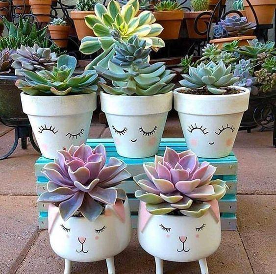painted terracotta pots 7