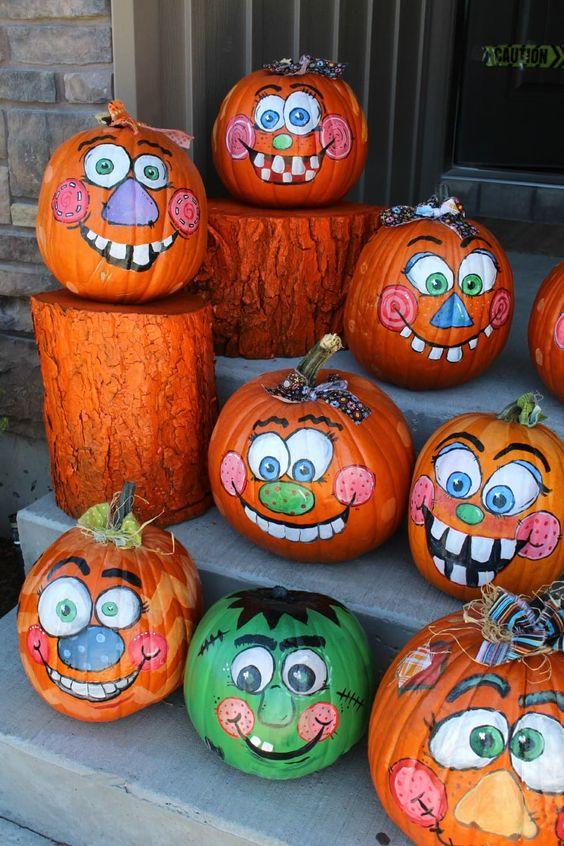 painting pumpkins ideas 5
