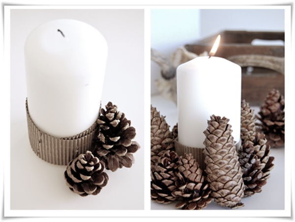 pine cones christmas ideas 11