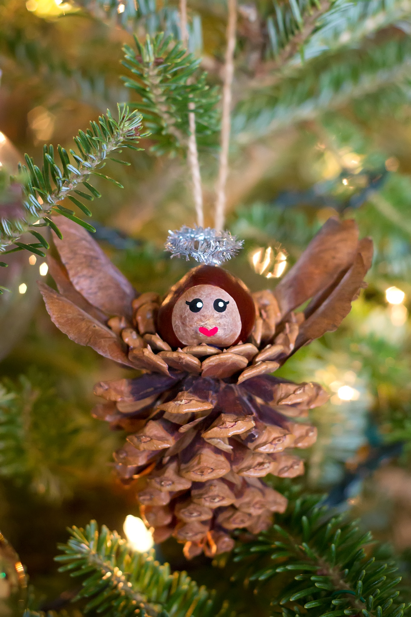 pine cones christmas ideas 17