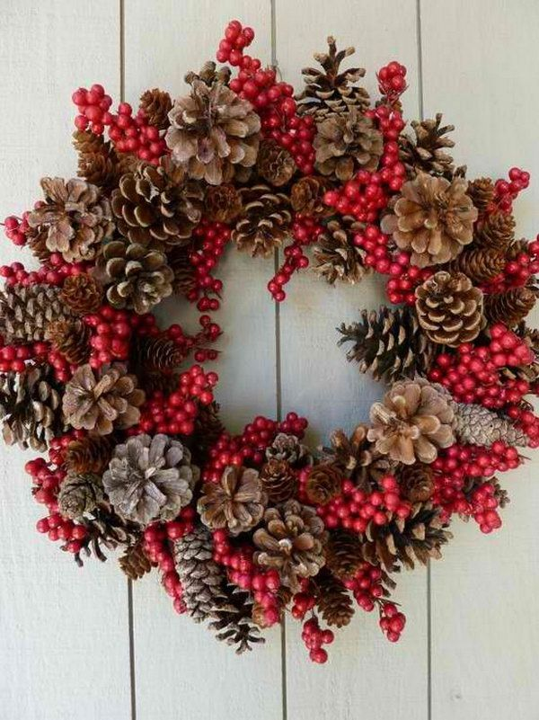 pine cones christmas ideas 19