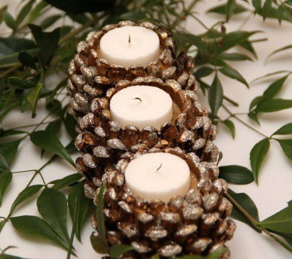pine cones christmas ideas