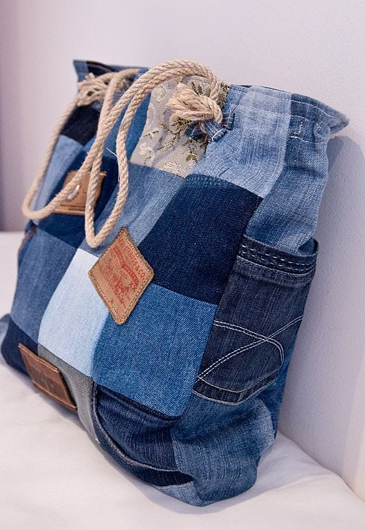 recycle old jeans 2