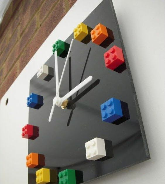 recycled material clock ideas 9