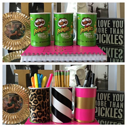 reuse recycle pringles can 2