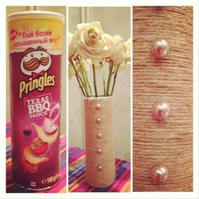 reuse recycle pringles can 5