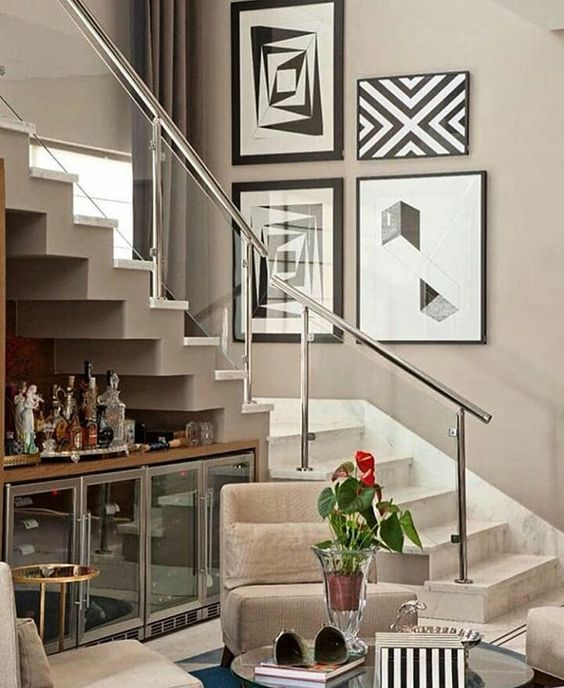 stair decorating ideas 1