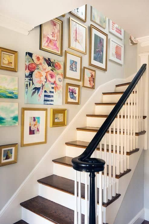 stair decorating ideas 12