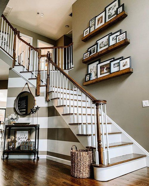 stair decorating ideas 14