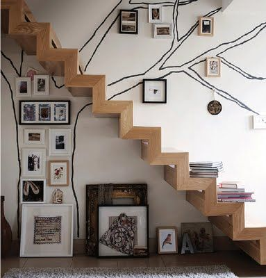 stair decorating ideas 8
