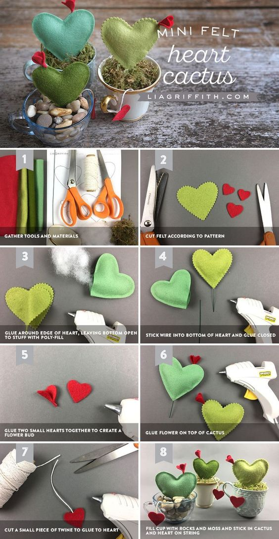 valentines day felt ideas 7