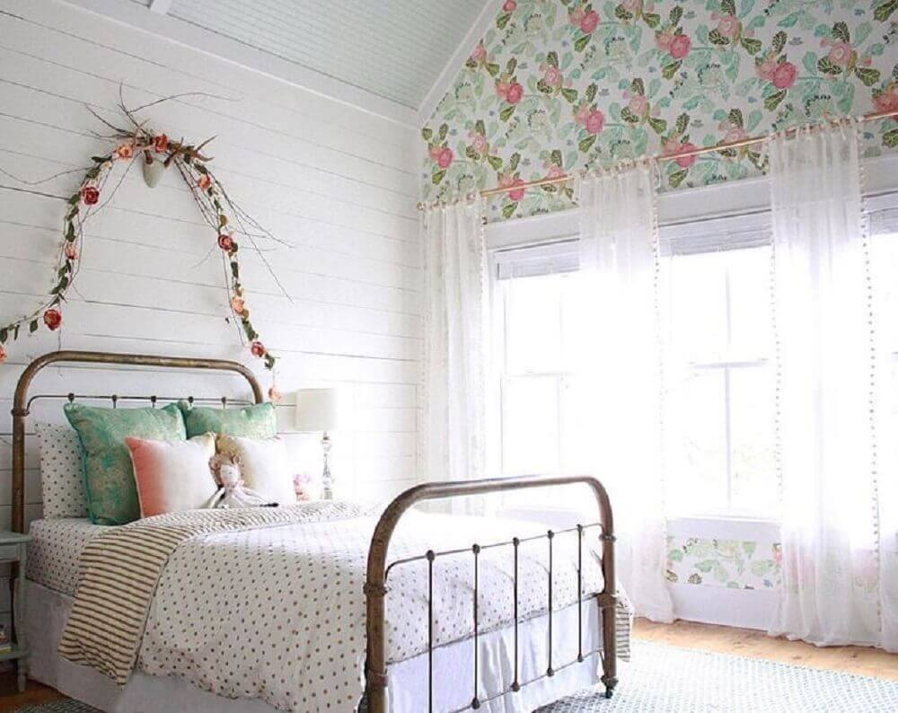 wallpaper for the girls rooms ideas 12