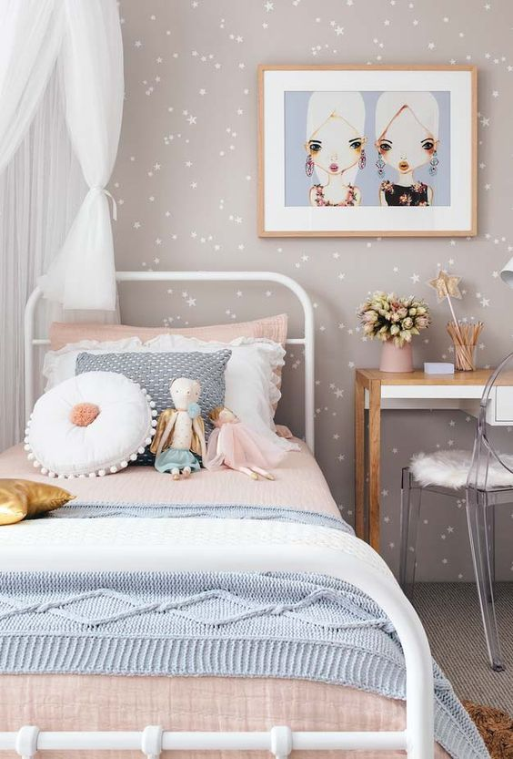 wallpaper for the girls rooms ideas 2