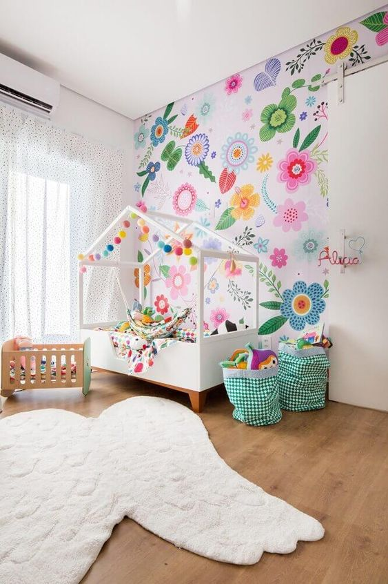 wallpaper for the girls rooms ideas 6