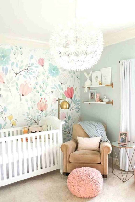 wallpaper for the girls rooms ideas 8