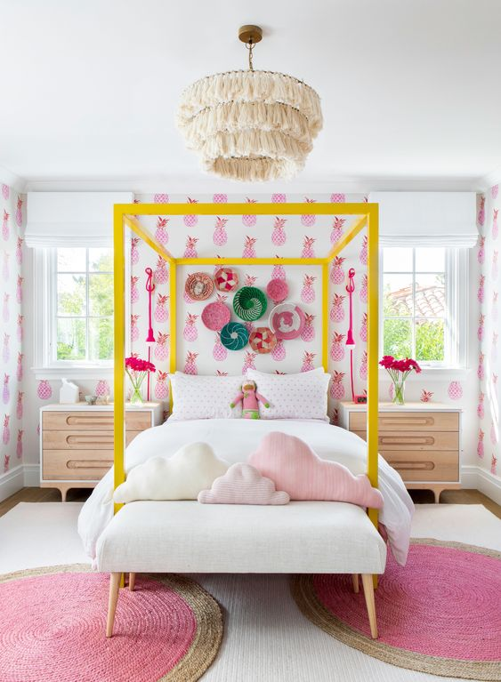 wallpaper for the girls rooms ideas 9