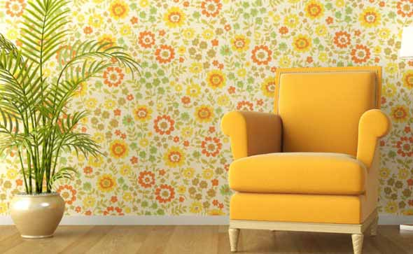 walls fabric cover