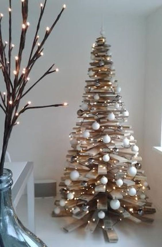 wooden christmas tree 10