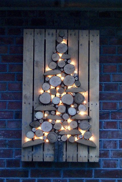 wooden christmas tree 6